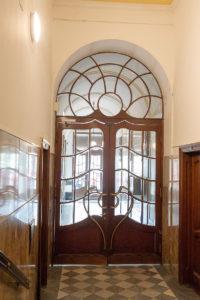 Zwischentüre im Ordinationshaus