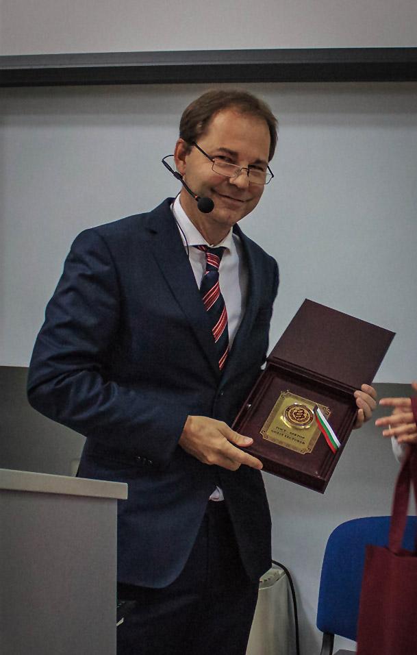 Vorlesung und Prof.hon Verleihung in PLeven