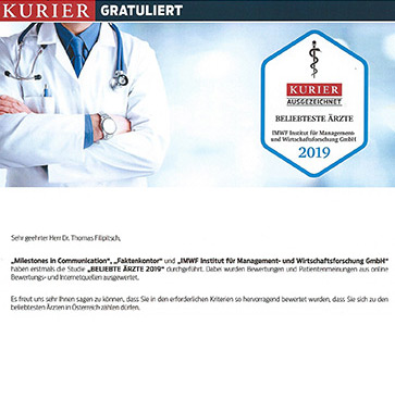 Österreichs beliebteste Ärzte